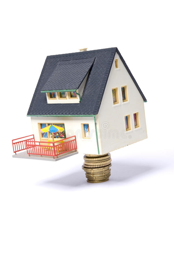 Pile house stock photos