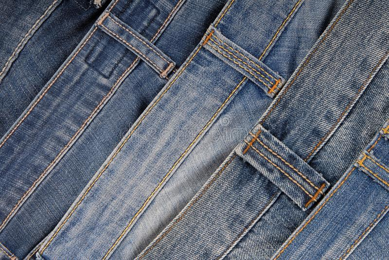It is a pile of jeans. royalty free stock image