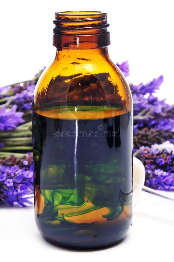 Lavender essence royalty free stock photo