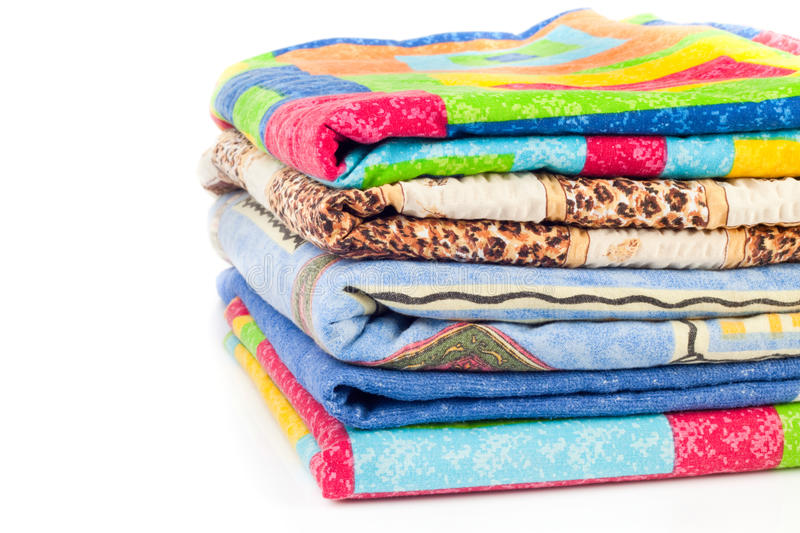 Pile Of Linen Stock Image