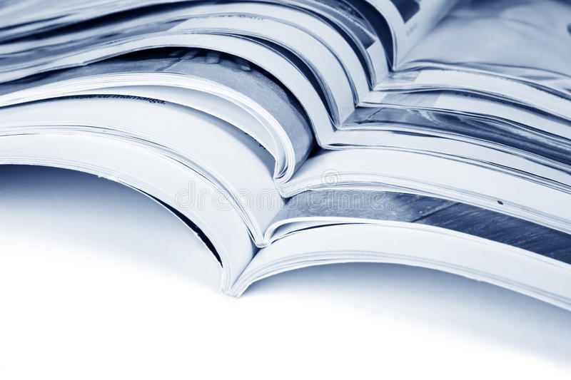 Download Pile of magazines stock image. Image of business, issue - 14852327