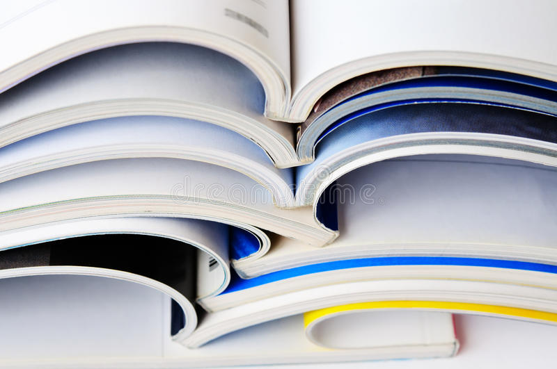 Download Pile Of Magazines Stock Image - Image: 32090851