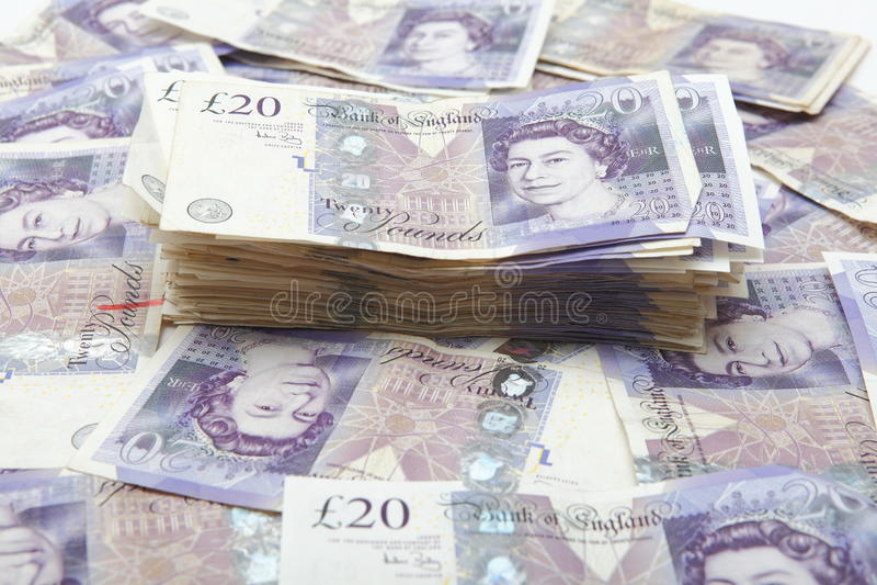 Pile of money stock photos