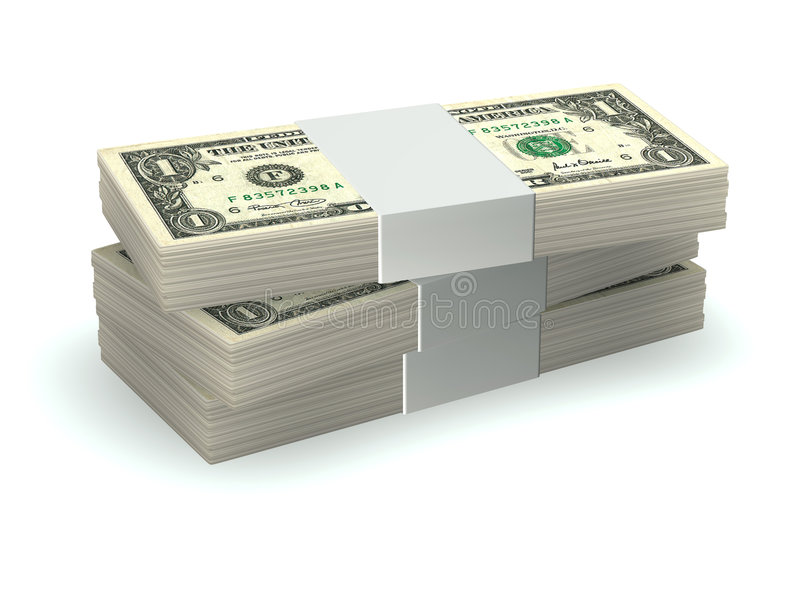 Download Pile of money stock illustration. Illustration of gamble - 3444043