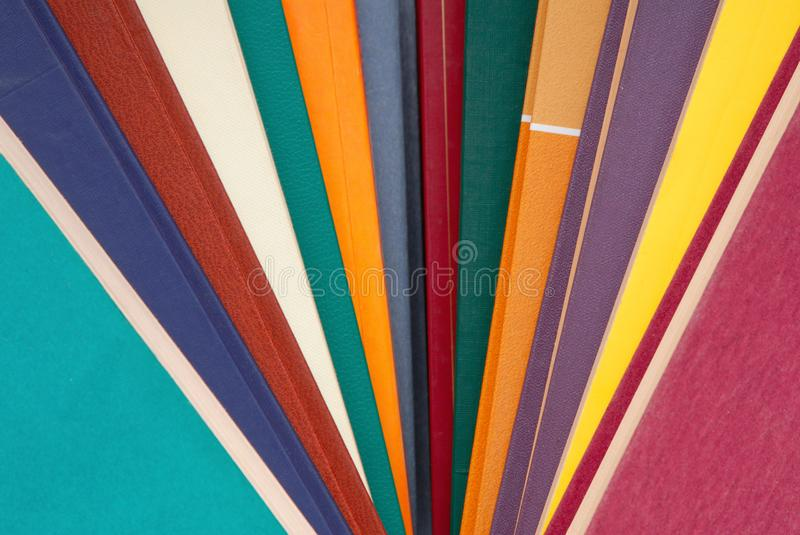 Pile of multicoloured books, bunch of multicolored books, heap o royalty free stock photography