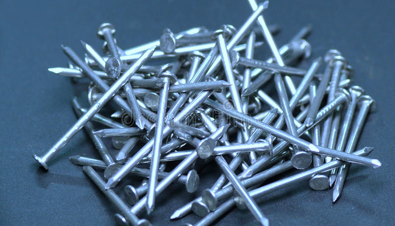 Download Pile of nails stock image. Image of heaped, piled, long - 11420155
