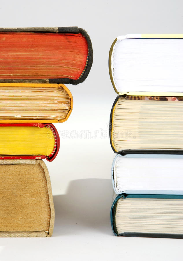 Download A Pile Of New And Old Books Stock Photo - Image: 13283620