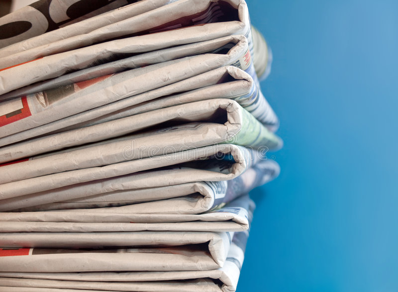 Download A Pile of Newspapers stock photo. Image of printing, newspaper - 7847478