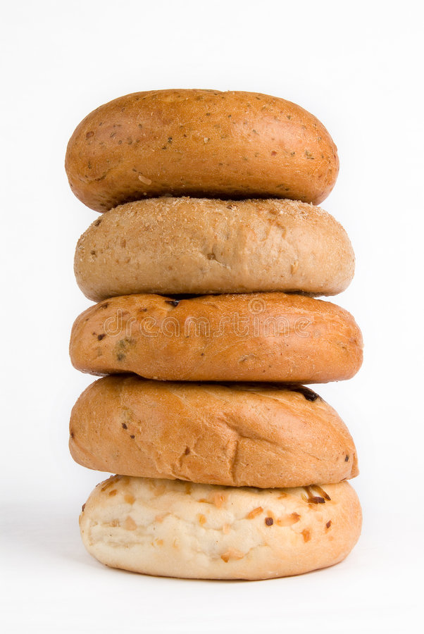Free Pile Of Bagels Royalty Free Stock Photos - 5872088