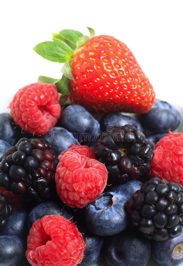 Free Pile Of Berry Fruits Stock Photography - 12827742