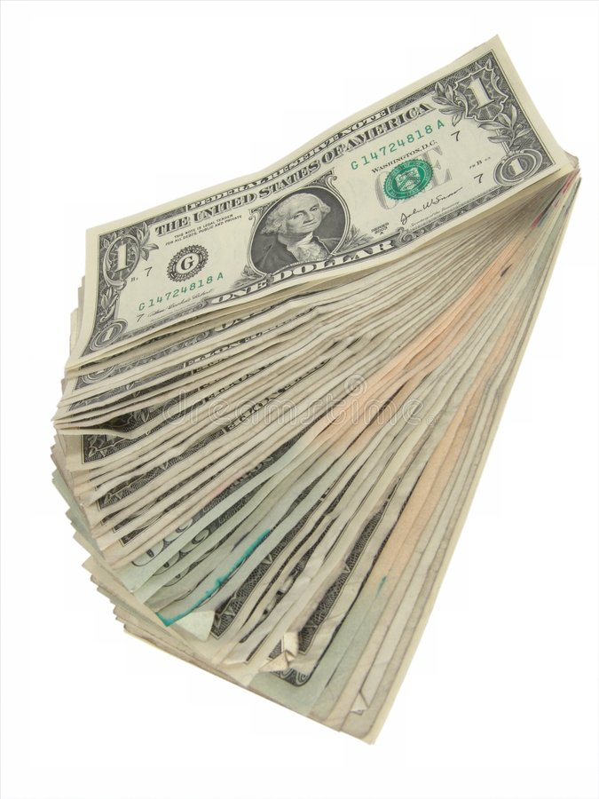 Free Pile Of Cash Stock Photography - 555542