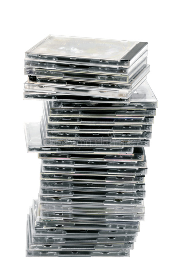 Free Pile Of CDs Stock Image - 471461