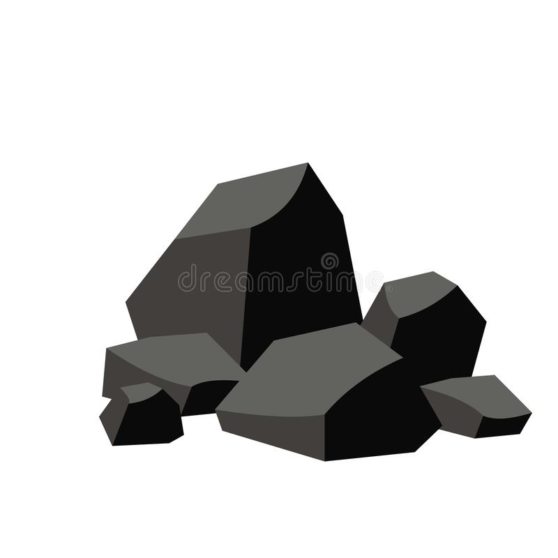 Free Pile Of Coal Royalty Free Stock Photography - 100845287