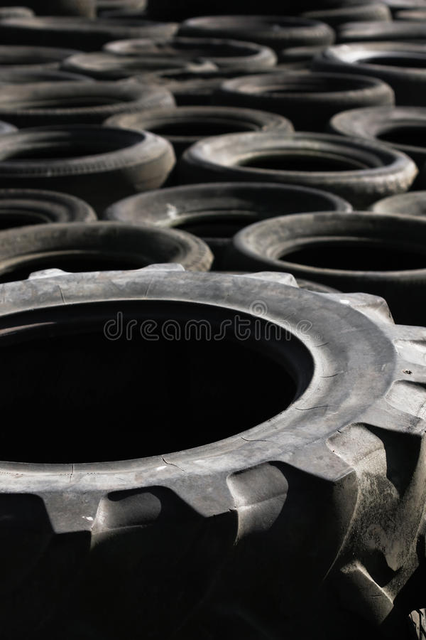Free Pile Of Discarded Tyres (1) Royalty Free Stock Photography - 12066937