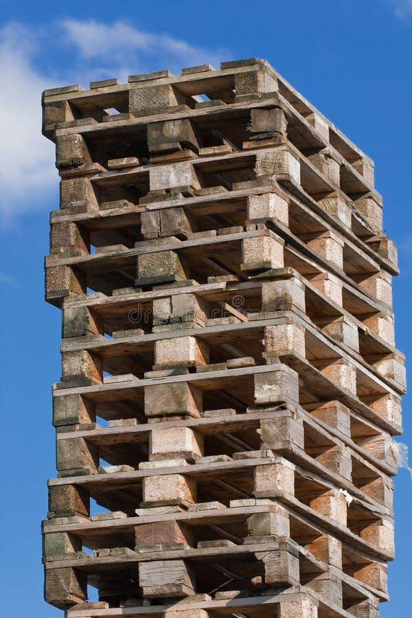 Free Pile Of Euro Pallets (1) Stock Photo - 12102530
