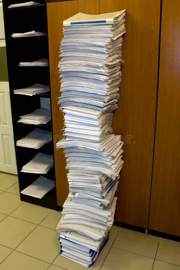 Free Pile Of Folders Stock Images - 5028824