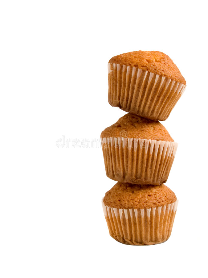 Free Pile Of Muffins Royalty Free Stock Photo - 5438455
