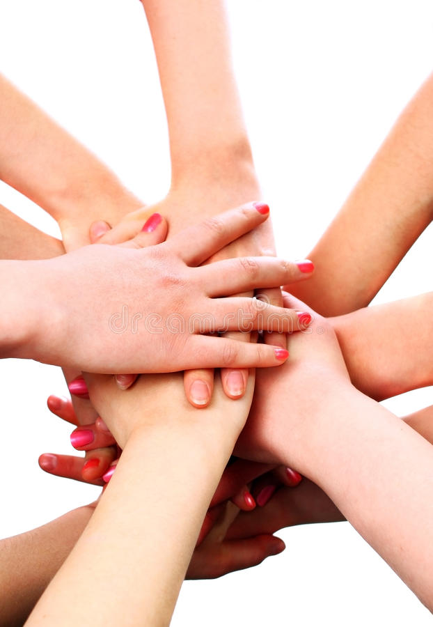 Free Pile Of Woman Hands Royalty Free Stock Photos - 14067268