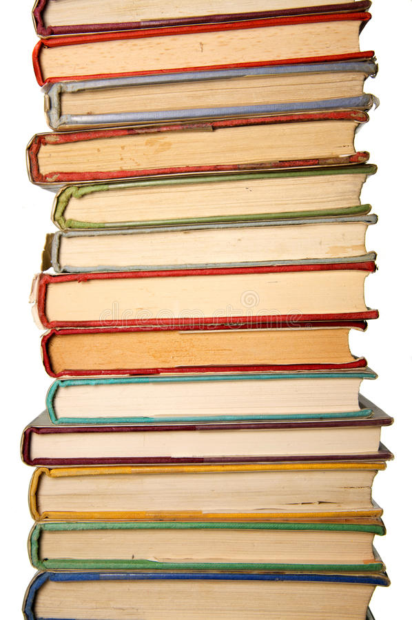 Download Pile of old books stock image. Image of pile, words, stack - 10248397