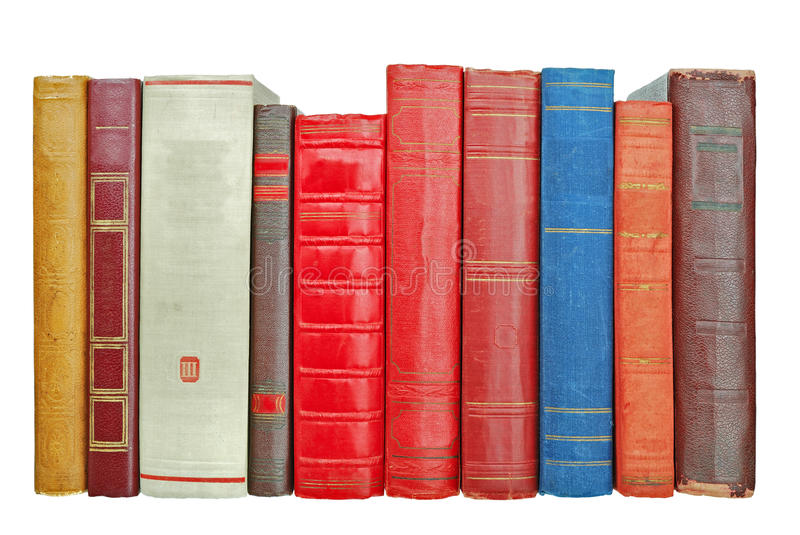 Pile Of Old Books Stock Photos