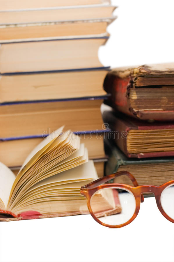 Download Pile of old books stock photo. Image of background, dirty - 13206382