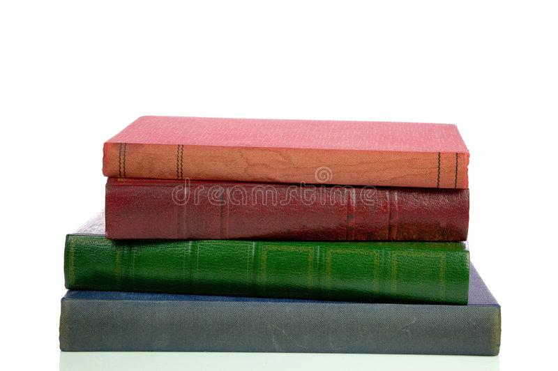 Pile Of Old Books Royalty Free Stock Photos