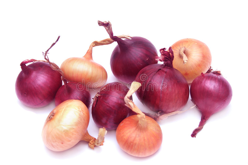 Pile of onions. royalty free stock image