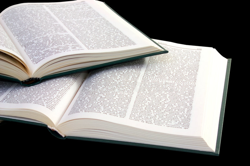 Download Pile of opened books stock image. Image of literate, pile - 1404103
