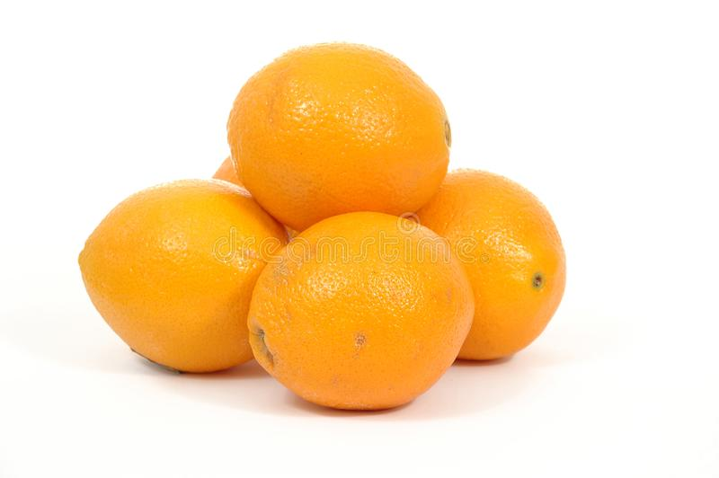 Pile of oranges royalty free stock images
