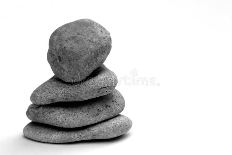Pile of pebbles stock photo