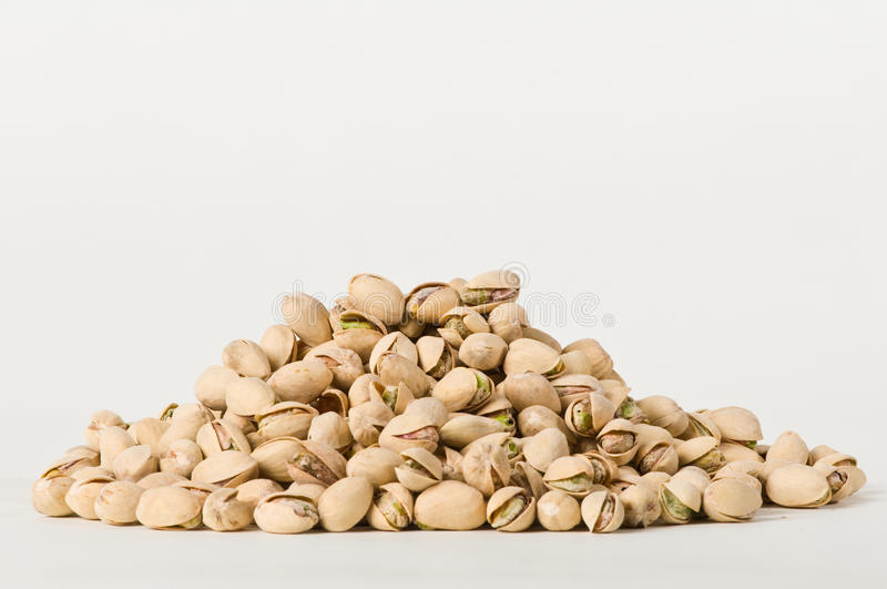 Pile of Pistachios royalty free stock image