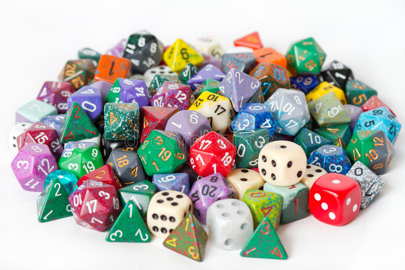 Download Pile of Polyhedrons stock photo. Image of pile, dungeons - 23286176