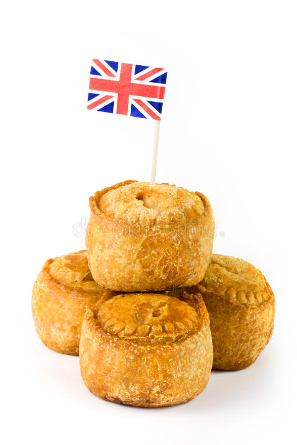 Download Pile Of Pork Pies With Union Jack Flag Stock Image - Image: 24802965