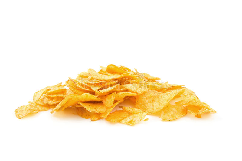 Download Pile of potato chips stock image. Image of chips, fryed - 11194323