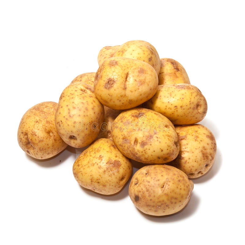 Pile Of Potatoes Royalty Free Stock Images