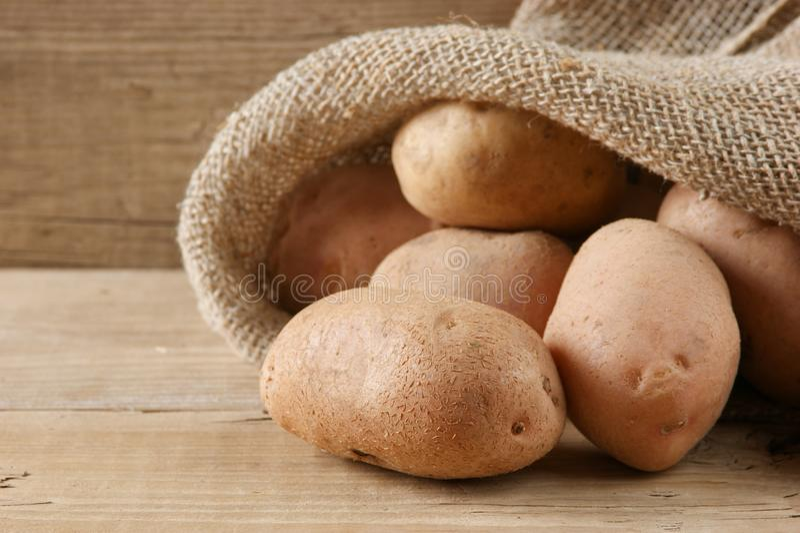 pile of potatoes royalty free stock image