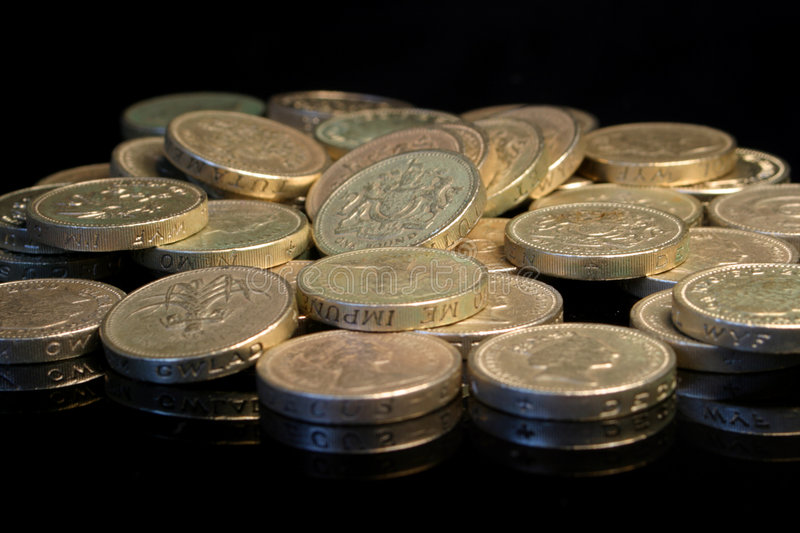 Download Pile on the pounds stock image. Image of britain, stack, currency - 8931