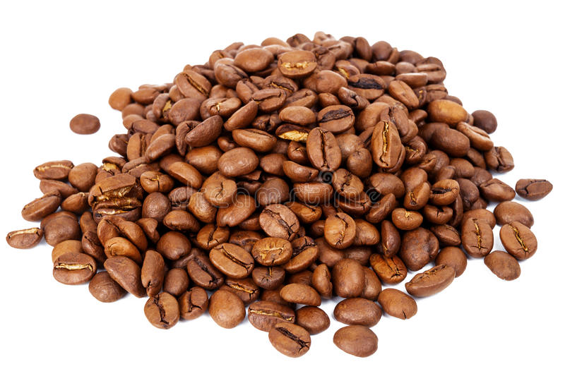 Download Pile Of Roasted Coffee Beans Stock Photo - Image: 83708941