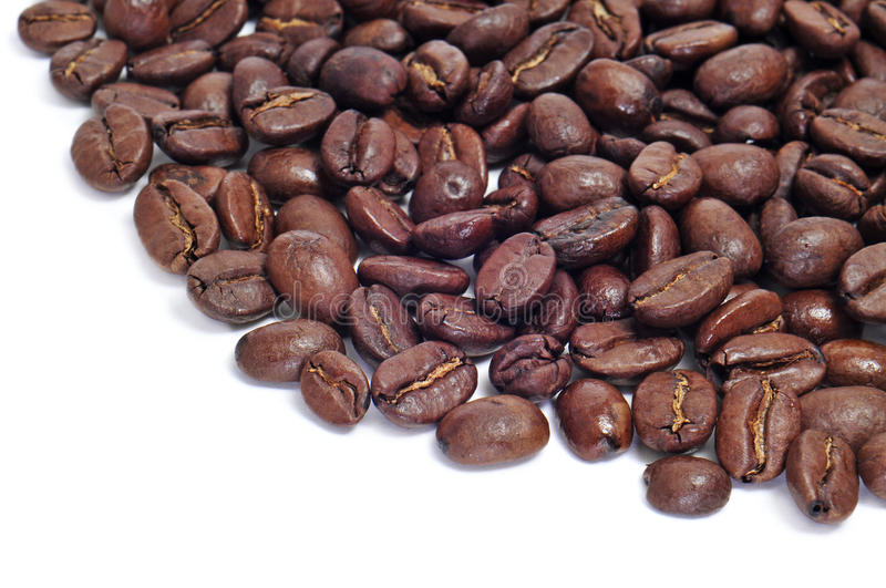 Download Roasted coffee beans stock photo. Image of drinking, brown - 30185642