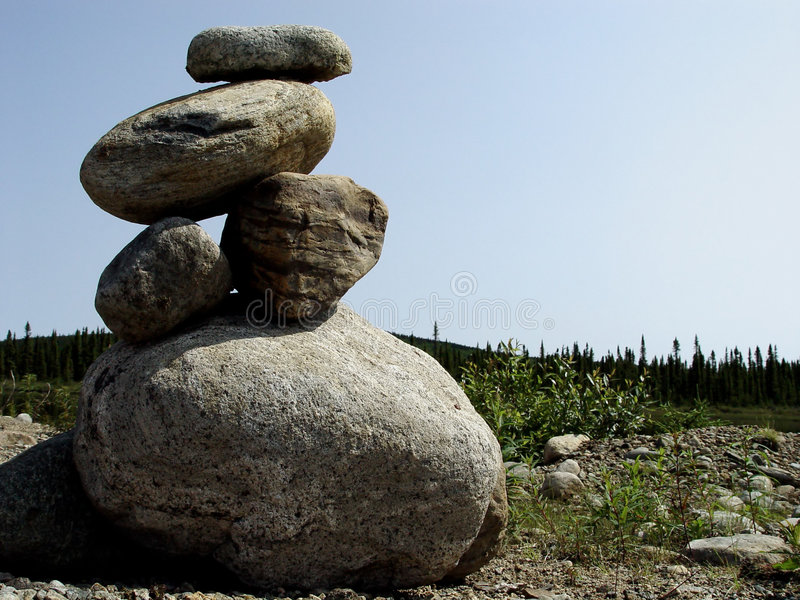 Download Pile of Rocks stock photo. Image of green, pebbles, natural - 13006