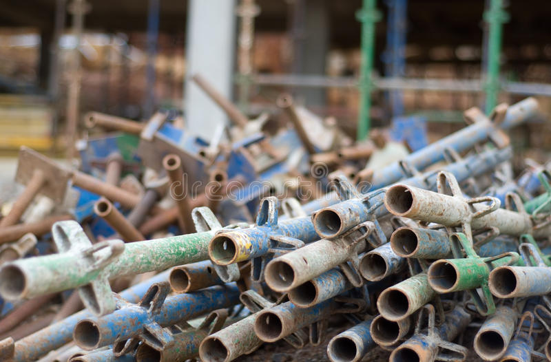 Download Pile of scaffold stock image. Image of scaffolding, scaffold - 25245733