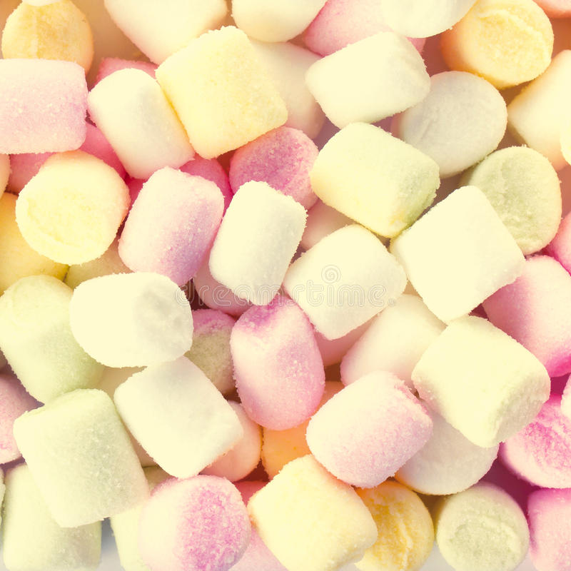 Download A Pile Of Small Colored Puffy Marshmallows May Use As Background Stock Image - Image: 35112783