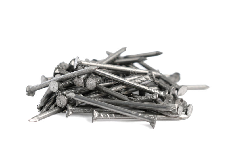 Download Pile of small nails stock image. Image of tool, iron - 22931709