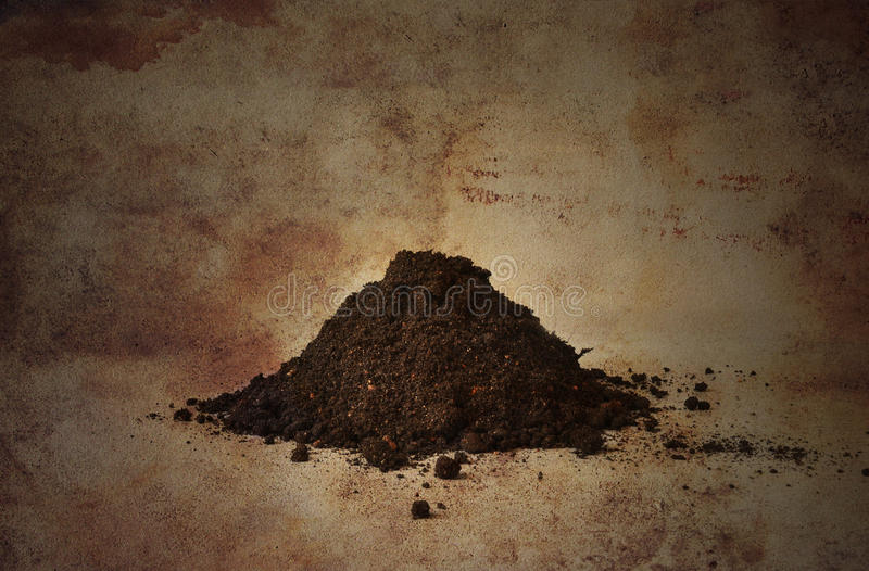 Download Pile of soil stock photo. Image of small, grungy, planting - 23402186