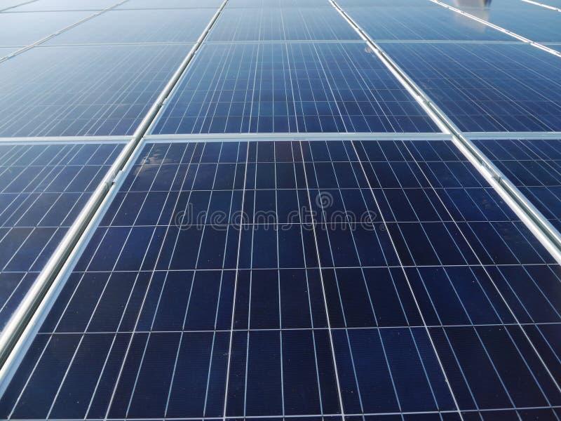 Pile solaire photo libre de droits