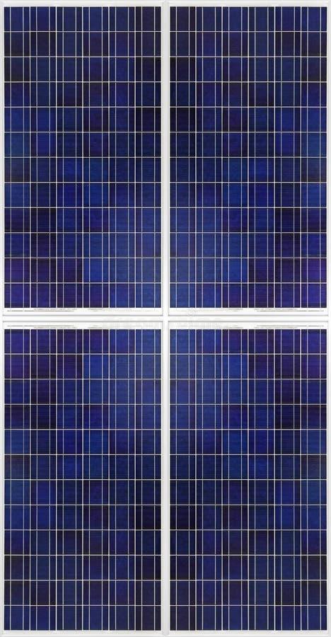 Pile solari immagine stock libera da diritti