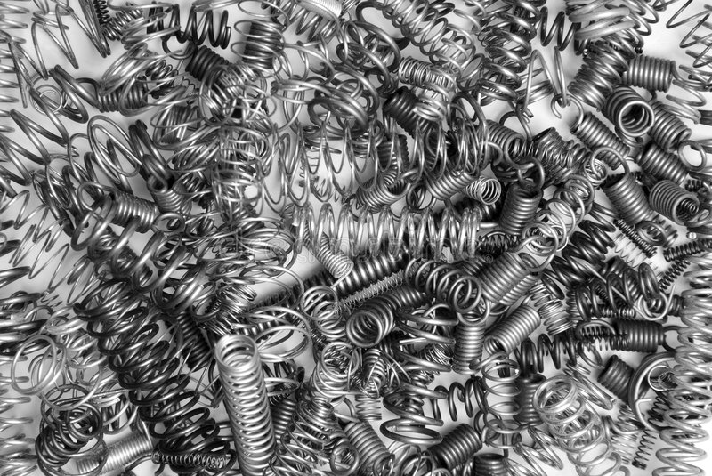 Pile Of Springs Royalty Free Stock Photo