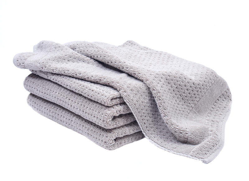 Download Pile, Stock Of Thick Organic Cotton Bath Towels Stock Photo    Image Of Isolated