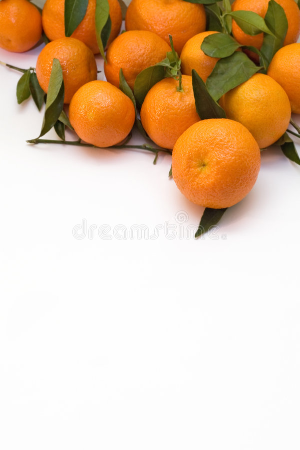 Download A Pile Of Tangerine Branches Royalty Free Stock Images - Image: 1643329