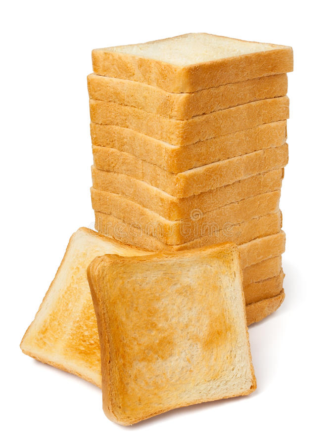 Download Pile of toasts stock photo. Image of snack, sandwich - 23267746